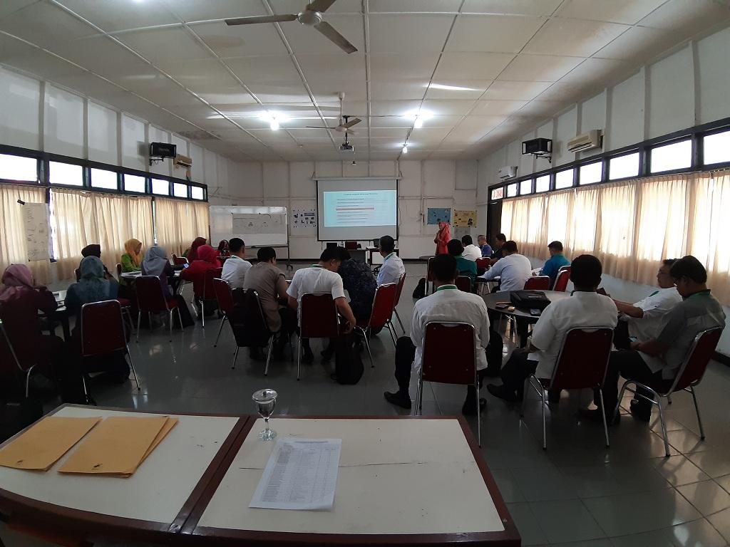 Biro Organisasi menjadi narasumber pada Diklat Teknis Reformasi Birokrasi Bagi ASN Provinsi Sumatera Barat di BPSDM Prov. Sumbar