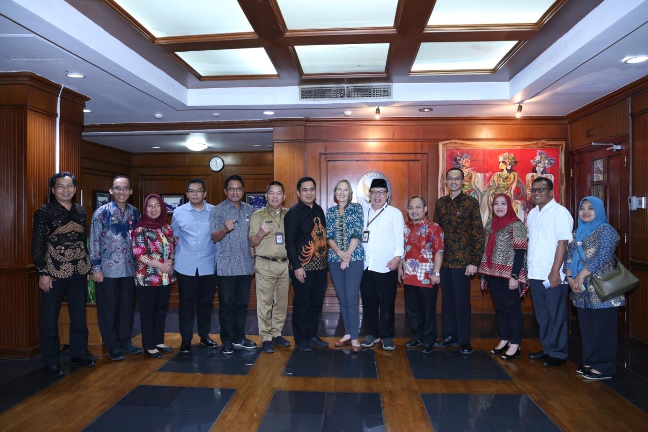 Rapat Koordinasi  JIPP Nasional di KemenPAN & RB pada tanggal 10 Maret 2020, yang dihadiri Kepala Biro Organisasi dan Kabag Ketatalaksanaan Biro Organisasi Setda Prov. Sumbar